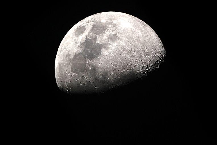 de maan Beeld shutterstock