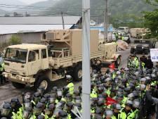 Le bouclier anti-missiles US arrive en Corée du Sud