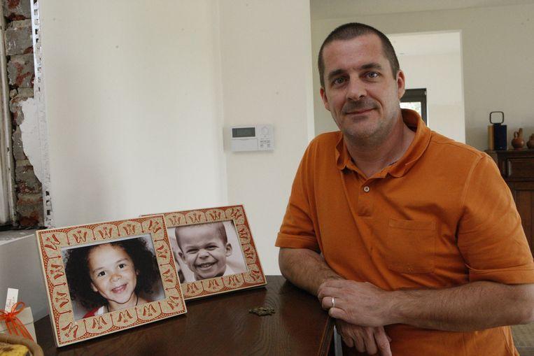 Vincent Lejeune is - voor even - weer thuis, bij zijn vrouw en kinderen.
