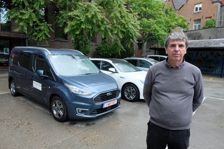 Dirk Goyvaerts bij enkele Diagnose Cars