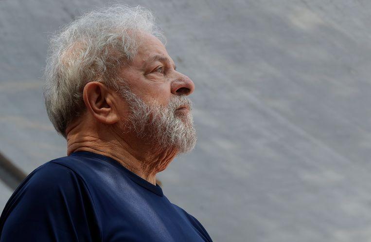 De voormalige Braziliaanse president Luiz Inacio Lula da Silva. Beeld AP