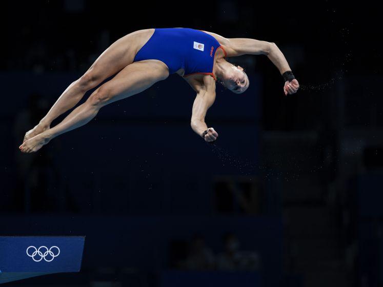 Schoonspringster Van Duijn op toren naar halve finale Spelen
