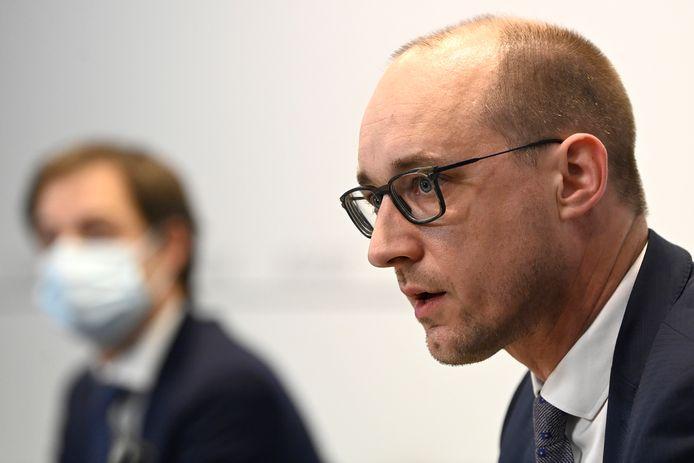 Vincent Van Peteghem, ministre des Finances (CD&V).