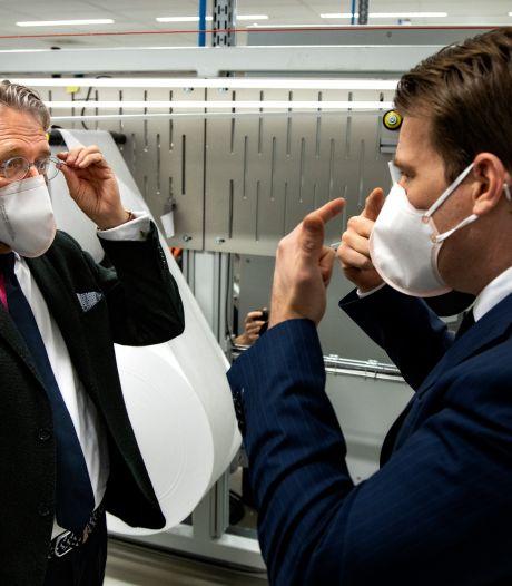 Medische mondkapjes nu volledig in Nederland gemaakt met hulp van VDL uit Eindhoven