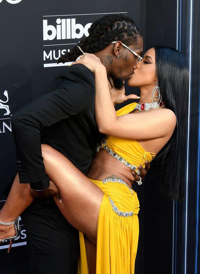 Cardi B en haar (bijna ex-)man, rapper Offset