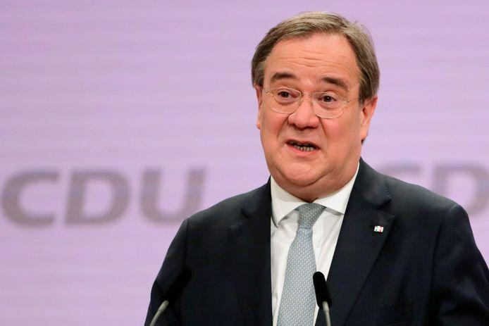 Armin Laschet is verkozen tot nieuwe leider van de Duitse christendemoctraten.