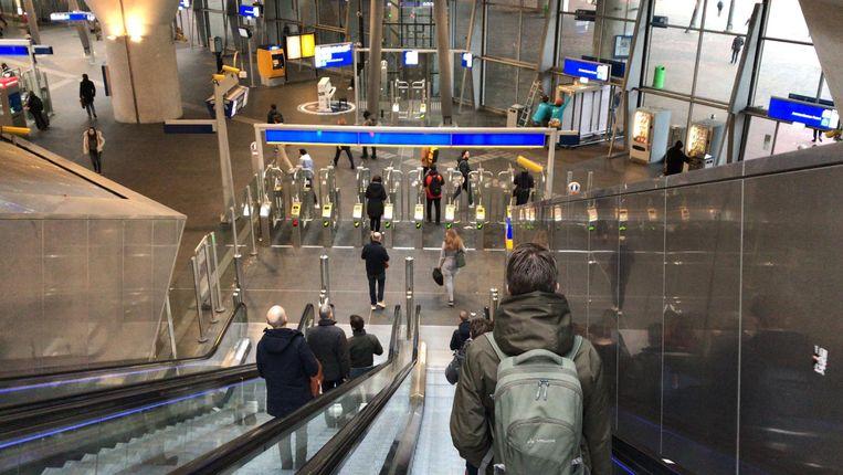 Station Bijlmer Arena. Beeld Het Parool