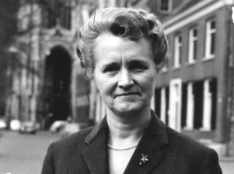Oud-minister Marga Klompé Beeld ANP