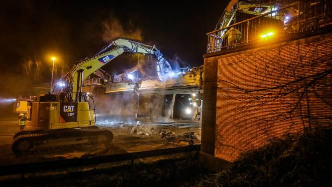 Werken aan tijdelijke brug over de A10 worden volgende week hervat