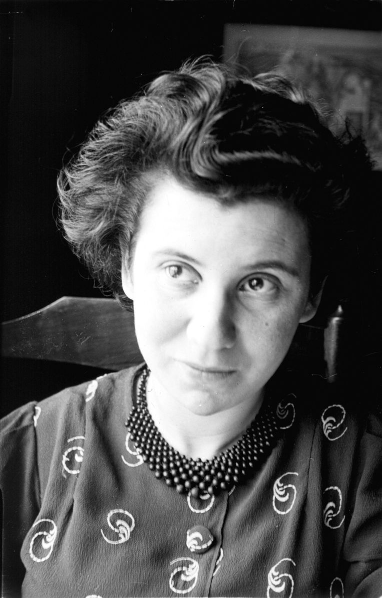 Portret van Etty Hillesum, circa 1939. Beeld -
