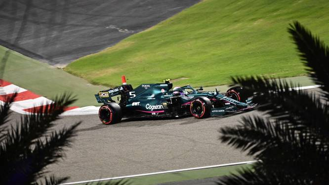 Vettel krijgt gridstraf bij debuut voor Aston Martin en start helemaal achteraan in Bahrein