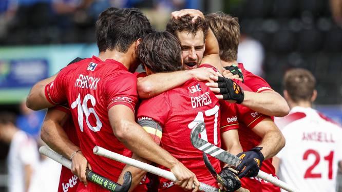 Red Lions veroveren brons na nipte zege tegen Engeland, Nederland grijpt EK-goud