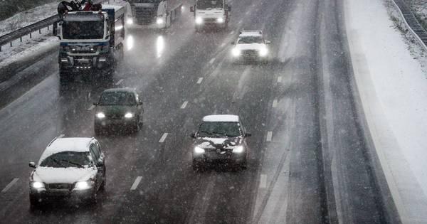 Dinsdagochtend echt winter in Zeeland: eerst ijzel, daarna sneeuw