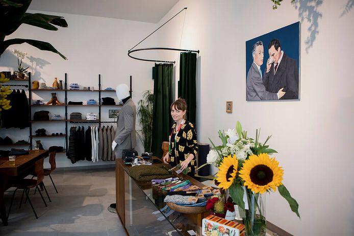 Lisa Deridder startte drie jaar geleden met haar zaak Lost in Pablos in de Onderstraat.