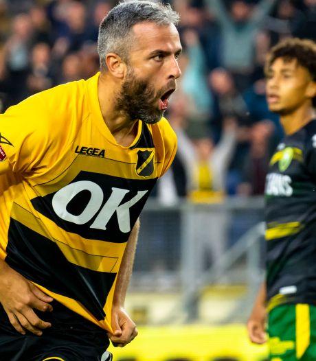 Topschutter Seuntjens doet oproep aan NAC-supporters: 'Ik hoop dat Breda vanaf minuut één achter ons staat'