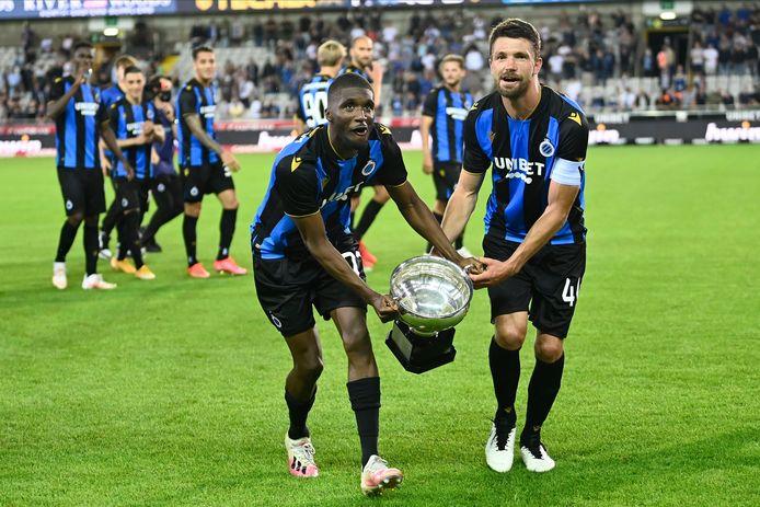 Club Brugge pakte gisteren voor eigen fans de Supercup in het Jan Breydelstadion.