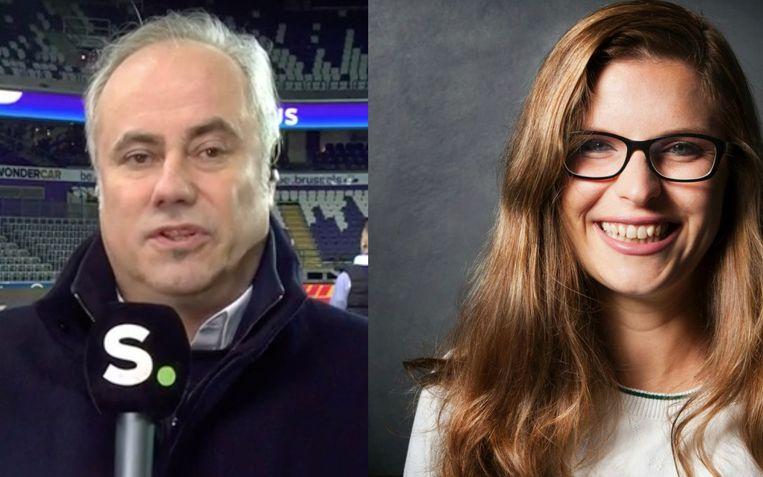 Eddy Demarez en Babette Moonen Beeld VRT