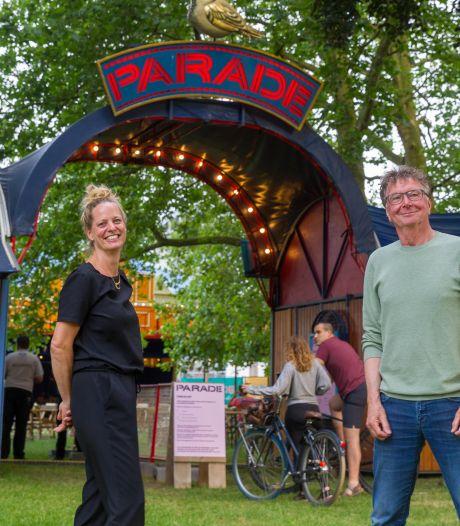 Publiek bij theaterfestival Parade in Eindhoven: Als blije koeien huppelend de wei in