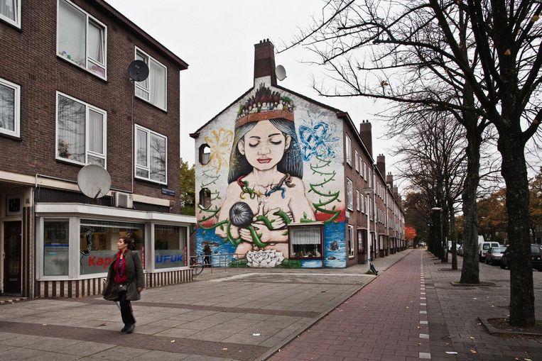 Burgemeester Fockstraat Beeld Dingena Mol