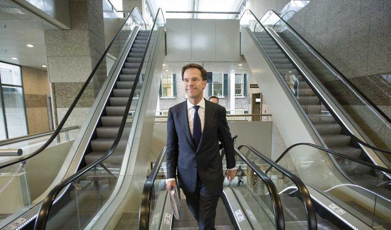 Rutte wil dat de Europese Unie eerst gaat bepalen wat de Europese Commissie de komende jaren gaat doen. Beeld anp
