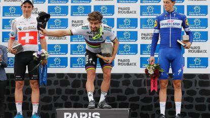 Chapeau! Sagan rondt fraai nummer af in tumultueuze Parijs-Roubaix