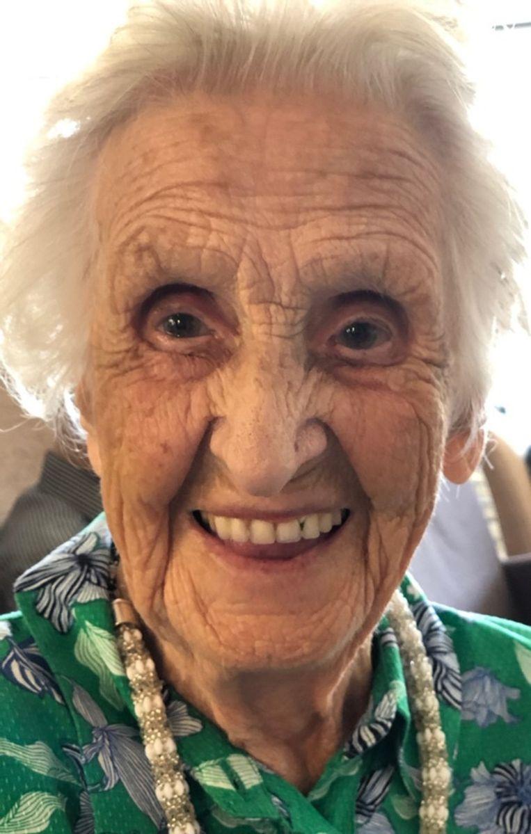 Nog steeds kranig op haar 105de verjaardag
