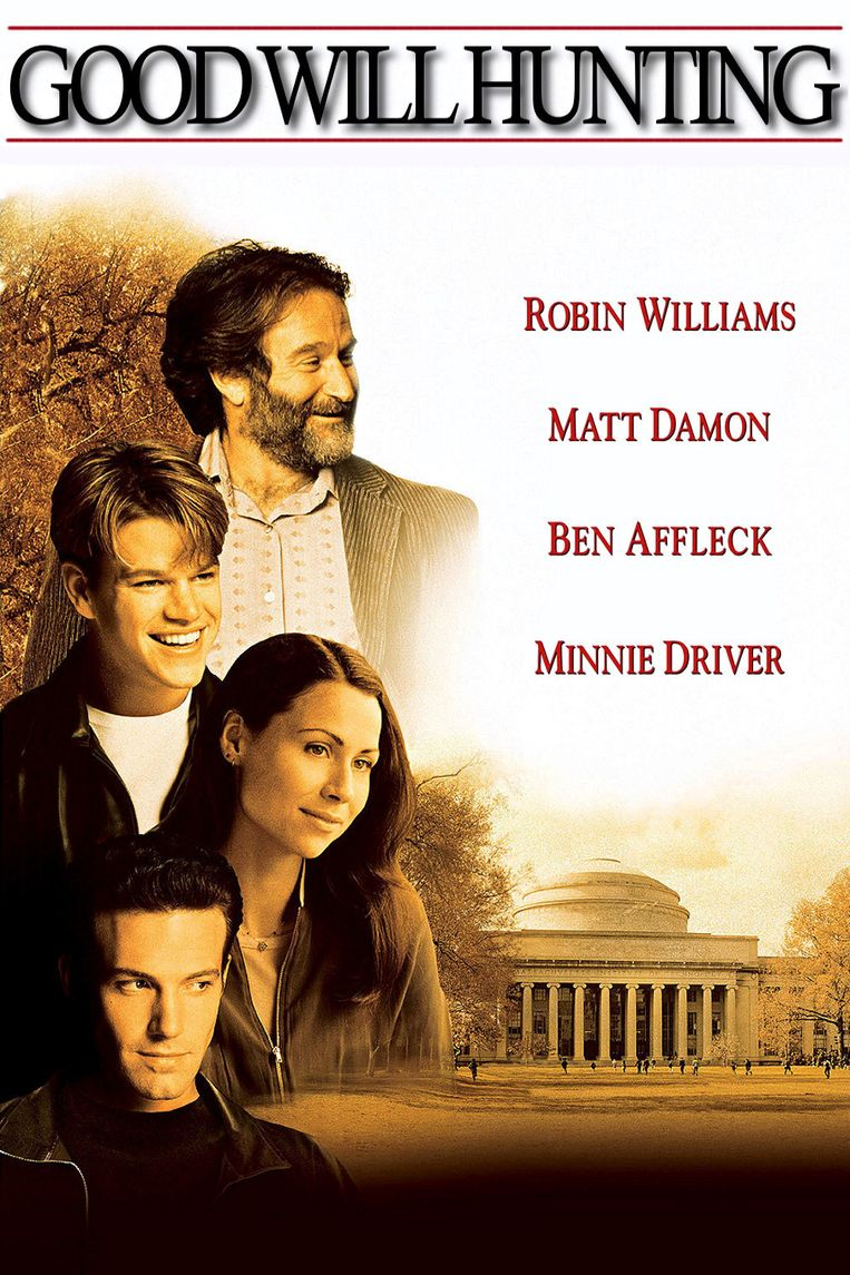 Filmposter Good Will Hunting Beeld -