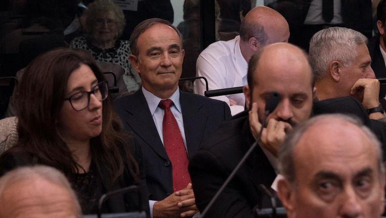 Poch wacht zijn vonnis af in Buenos Aires Beeld Pablo E. Piovano