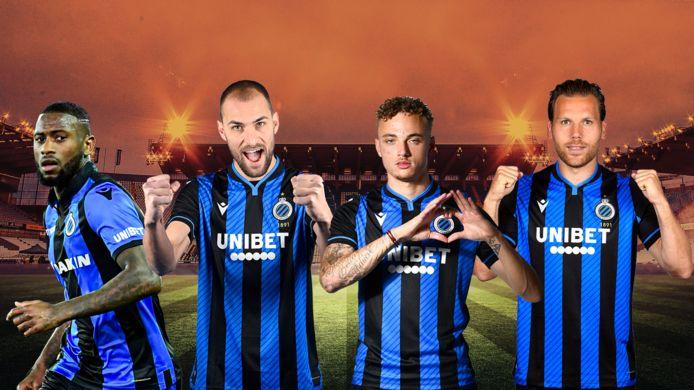 Denswil, Dost, Lang en Vormer, de Nederlandse connectie van Club Brugge is verantwoordelijke voor 75 procent van de gescoorde goals in 2021.