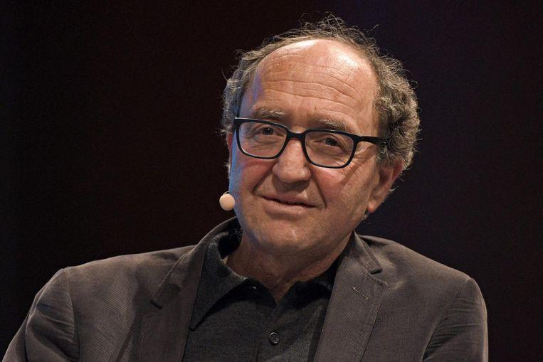 De Duitse schrijver Dogan Akhanli Beeld AFP