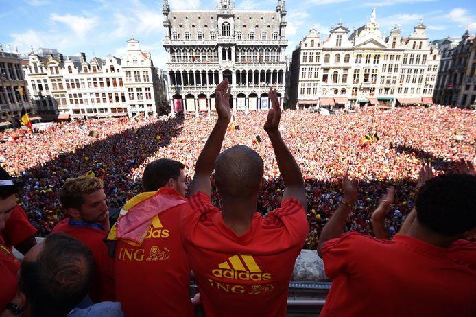 Yousra B.S. zou in juli 2018 hebben opgeroepen om een aanslag te plegen op de Brusselse Grote Markt, tijdens de terugkeer van de Rode Duivels.