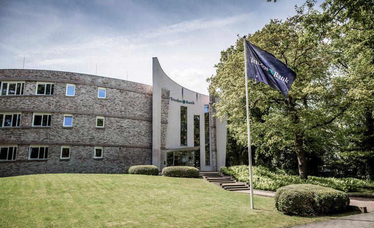 Exterieur van het hoofdkantoor van Triodos Bank in Zeist. Beeld null