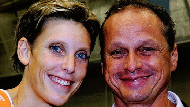 De vermoorde oud-volleybalster Ingrid Visser en haar partner Lodewijk Severein. Beeld ANP