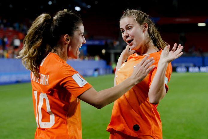 De Oranje Leeuwinnen kunnen juichen.