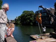 Maria/Medea terug van weggeweest: kunstwerk staat weer in de Spuihaven