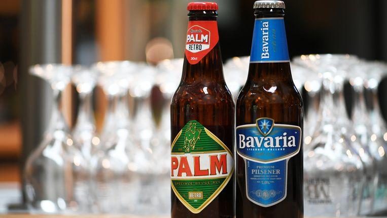 Flesjes Palm en Bavaria. Beeld belga