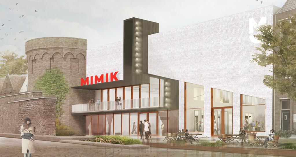 'Een naam die de lading Film + Theater + Horeca dekt: MIMIK'