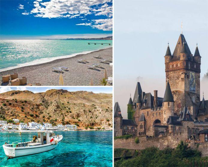 Le Côte d'Azur, la Crète ou la Moselle? Les bons plans vacances du moment