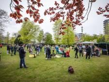 Reddingsactie eendje grootste opwinding tijdens matig bezochte demo Wakker Twente in Hengelo