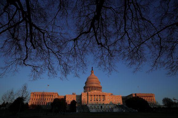 Het Congresgebouw in Washington DC.
