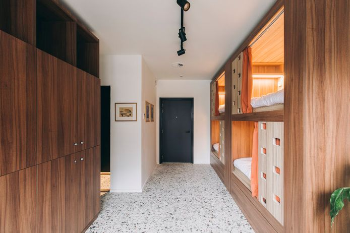 Yust heeft ook dorm rooms met tot 8 bedden in totaal