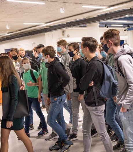 Deuren middelbare scholen in West-Brabant weer wagenwijd open