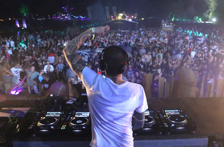 Het Ground Zero Festival op Bussloo, tijdens een eerdere editie.