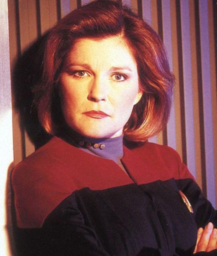 Kathryn Janeway, Kapitein van de USS Voyager Beeld Star Trek