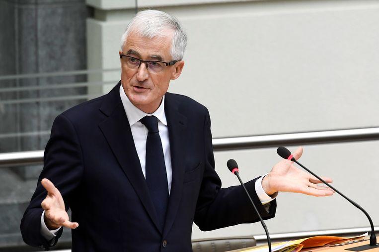 Vlaams minister-president Geert Bourgeois. Beeld BELGA