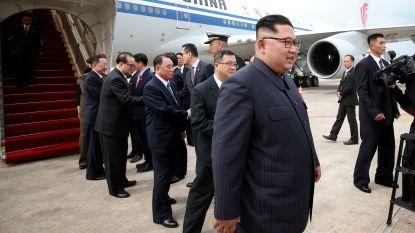 Trump en Kim zijn al in Singapore ... en slapen op 750 meter van elkaar