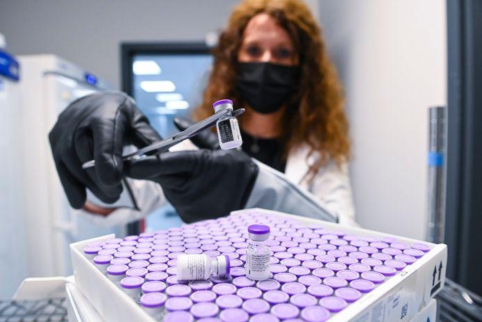 Het Pfizer/BioNTech-vaccin.