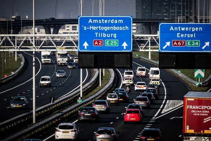 De snelweg moet de drukte op de A2 verminderen.