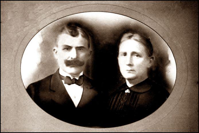 Leonard Snoeks en Anna Coninx huwden in Hechtel op 27 september 1897.