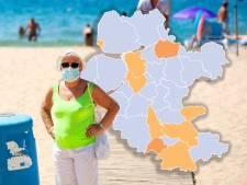 KAART | Optimisme ondanks kleine stijging besmettingen: veel gemeenten in regio opnieuw op nul